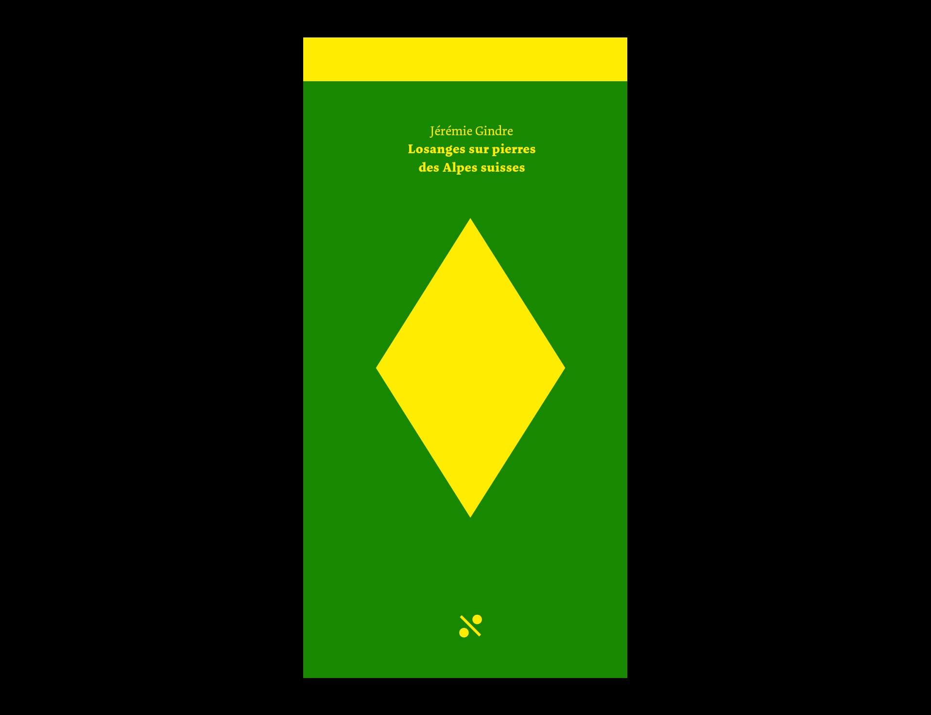 BB02 Losanges sur pierres des Alpes suisses - couverture