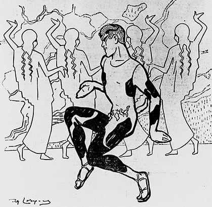 Losques_Nijinsky_as_faun_1912