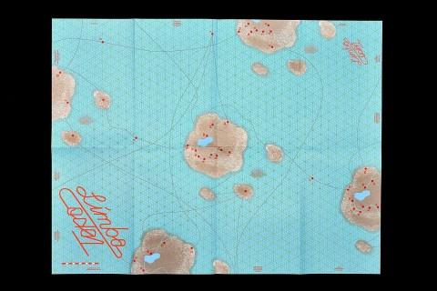 carte topographique (506×388mm), recto