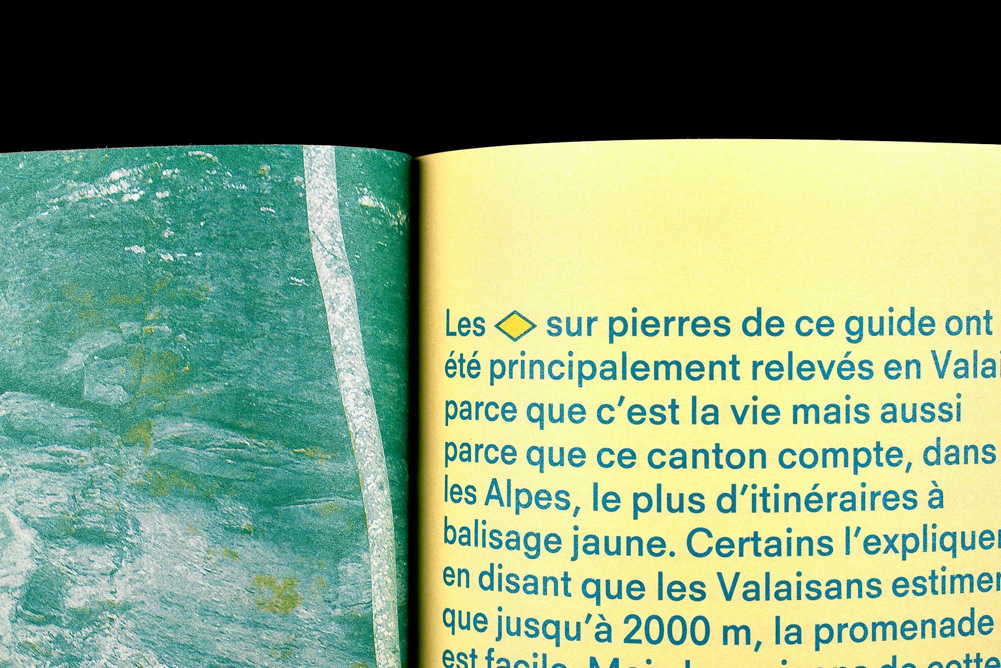 BB02 Losanges sur pierres des Alpes suisses - pages 28-29, détail