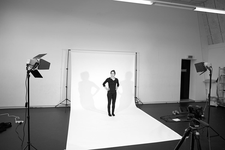 Laurence Yadi en répétition, Studio de danse du Grütli, photo: Nicolas Robel