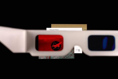 carte postale et vision 3D