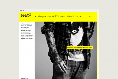 site internet, accueil