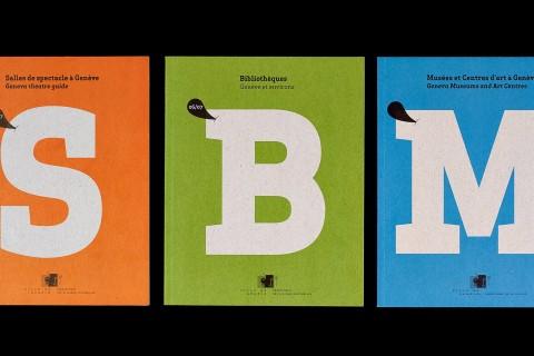 brochures, 1re de couverture, collection